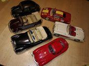 6x Automodelle 1 18