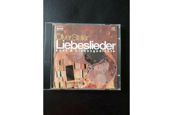 Oliver Steller Liebeslieder CD