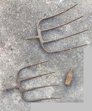 Aufsatz Werkzeuge ohne Stiel Mistgabel