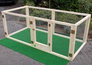 Kaninchengehege Hasenstall mit Steckscharniere zum