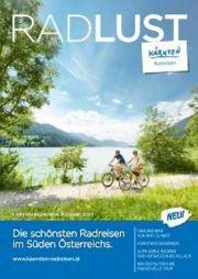 Kärnten Radtouren Magazin zu verschenken