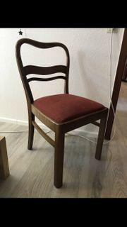 6 Stühle Esszimmerstühle vintage Stuhl