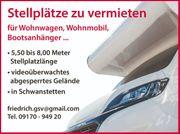 Abstellplatz Stellplatz Wohnmobil Wohnwagen Boot