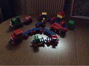 Lego Playmobil Eisenbahn
