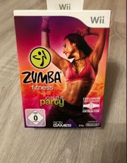 Nintendo Wii Zumba Set Spiel