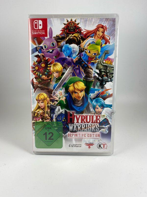 Hyrule Warriors Switch Neu OVP