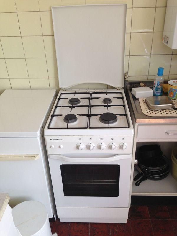 Privileg Gas Koch- und Backherd