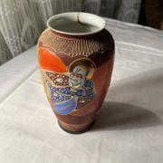 Chinesischer Behälter mit Druck Vase