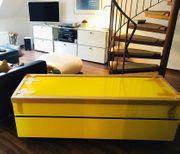 Design-TV-Board von Spectral in gelb - neu