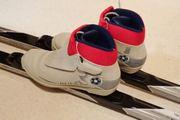Langlaufset klassisch Ski Schuh