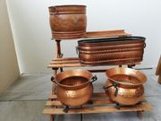 Übertöpfe aus Kupfer