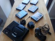 SEGA Mega Drive 16-BIT und