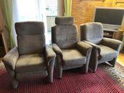 3er Couch und 3 Sessel