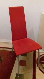 Verk 4 moderne Esszimmer Stühle