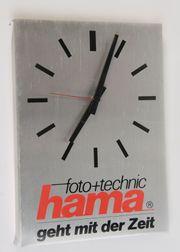 Hama WANDUHR Retro Werbeuhr 35x25