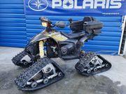 Polaris mit Raupenkit und Räder