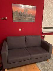 Couch 2er aus Stoff