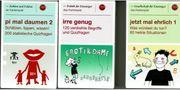 3 verschiedene unterhaltsame Kartenspiele - als