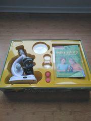 Mikroskop - Clementoni Galileo Experimentierkasten - kaum