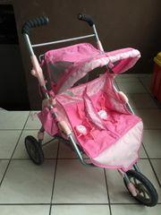 Babyborn Zwillingswagen
