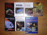 Aquaristik Literatur 7 x Bücher