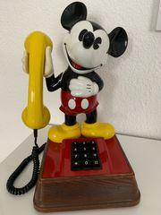 Mickey Mouse Tastentelefon 80iger Jahre