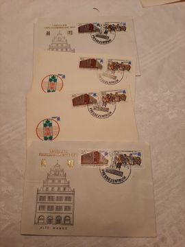 Bild 4 - Briefmarken-Konvolut unsortiert - München Trudering