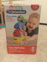 Baby clementoni fun vehicles