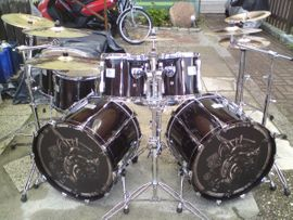 Drums, Percussion, Orff - Sehr rar Pearl CZX Doublebass