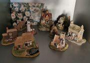 Lilliput Lane - Sammlung - 9 Häuschen