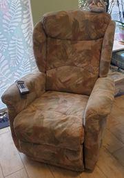 Sessel von Hukla elektrisch mit