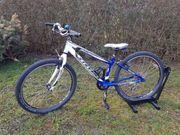 tolles blau-weisses Kindermountainbike von Stevens