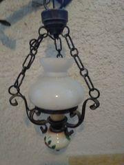 3 schmiedeeiserne Lampen