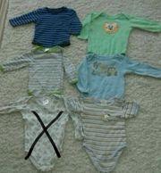 Baby - Langarmbodypaket Größe 74 80