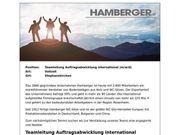 Teamleitung Auftragsabwicklung international m w