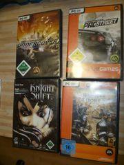 PC Spiele 9 Stück zu