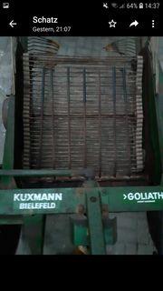 Kuxmann Goliath Schwingsiebroder Kartoffelroder Siebkettenroder