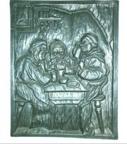 gussbild 3 Mönche