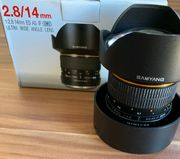 SAMYANG 14mm - 1 2 8