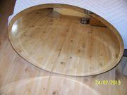 1 ovaler Badspiegel