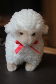 Plüschtier Stofftier Accentra weißes Schaf