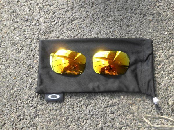 Oakle Valve Ersatzbrillengläser-gelbes Spiegelglas
