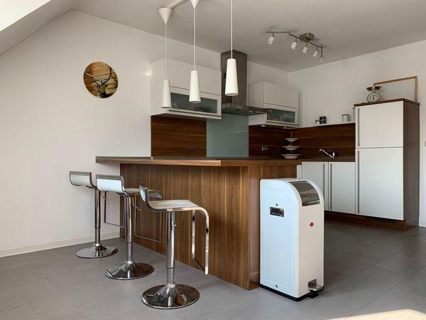 Moderne Küche Einbauküche Nobilia Primo Weiß Hochglanz U Form In
