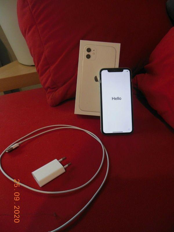 Apple iPhone 11 - 64GB - Weiß 64 GB