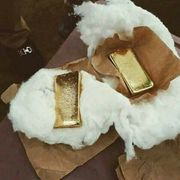 Goldbarren zur Verfügung
