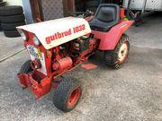 Gutbrod Traktor mit Schnee Schild