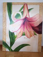 Lilie in Acryl