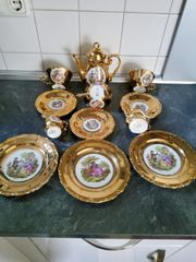 Antikes Bavaria JWK Karlsbad Porzellan