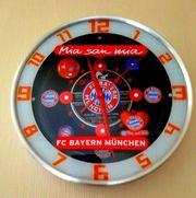 Wanduhr Bayern München