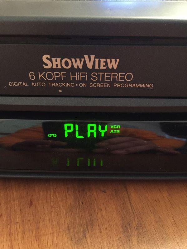 Tevion MD 9096 6 Kopf HiFi Stereo Videorekorder - Starnberg - Tevion MD 9096 6 Kopf HiFi Stereo Videorekorder, läuft super wie auf den Bildern zu sehen Versand 10 Euro - Starnberg